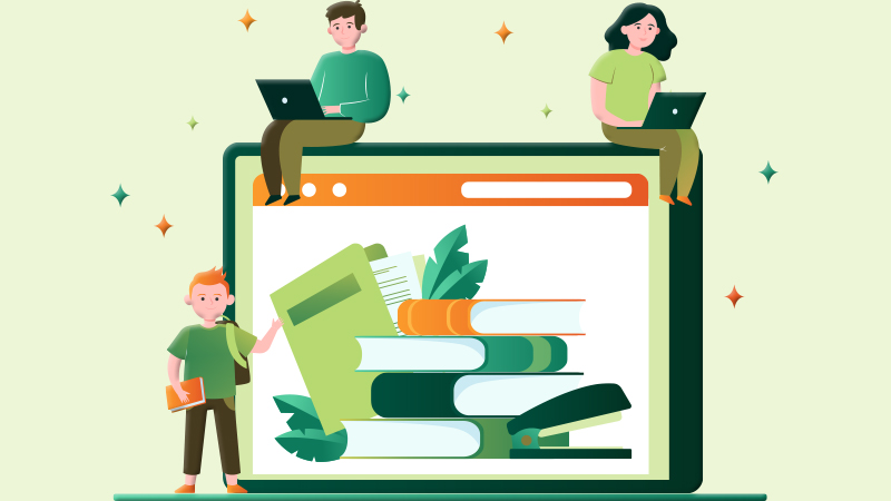 Library Management with Jibu School Management System