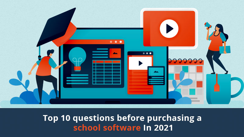 questions before purchasing a school management software