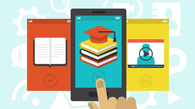 school software on mobile phones