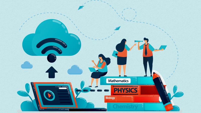 school software on cloud platform