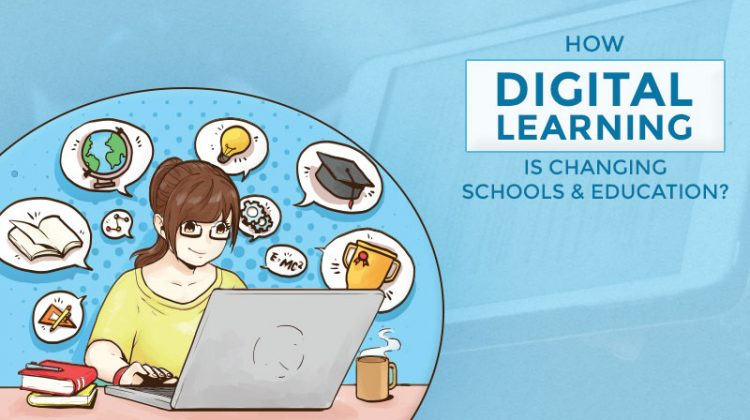 Digital learning changing the education system