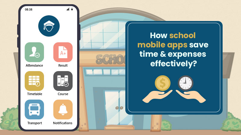 school management app saves Time and expenses